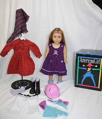 """American Girl McKenna 18"""" Doll, PLUS Lot of AG Clothes"""