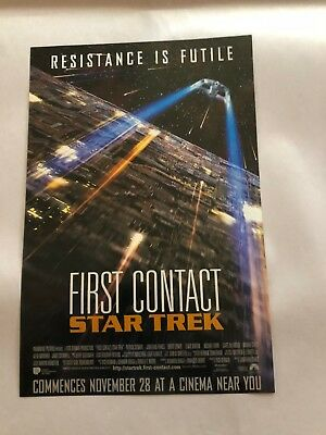 Star Trek First Contact Trading Cards With Specials