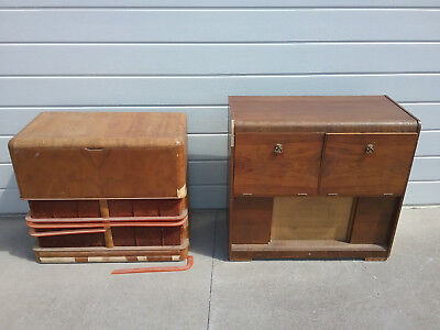 ANTIQUE/VINTAGE RADIOGRAM'S, 1 X CLASSIC & 1 x HOTPOINT, 2 FOR THE PRICE OF 1...