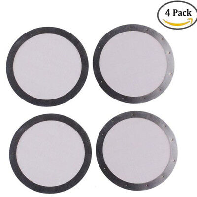 4PCS Coffee Filter Stainless Steel 250 mesh For AeroPress Coffee Filter Home