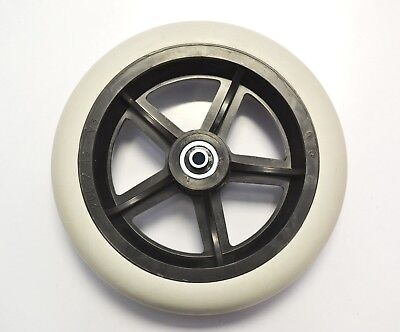 "8"" Front Castor Wheel for Invacare Rea Azalea, Clematis and Dahlia Wheelchairs"