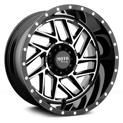 Moto Metal MO985 BREAKOUT Wheel 20x12 (-44, 8x165.1, 125.5) Black Single Rim