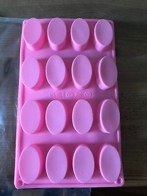Small Oval & Rectangle Soap Moulds