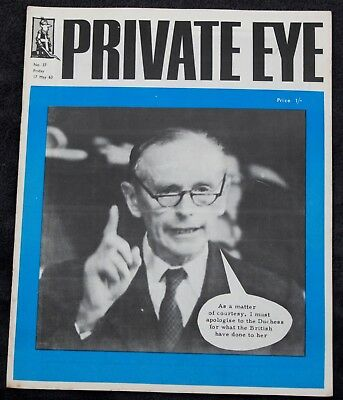 PRIVATE EYE MAGAZINE 8 early copies
