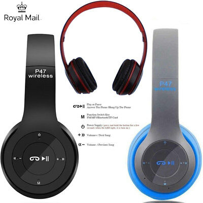 Wireless Headset Noise With Ear Microphone Bluetooth Over Cancelling Headphones