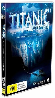 The Titanic Collection (DVD, 2010, 2-Disc Set) - Region 4 brand new sealed