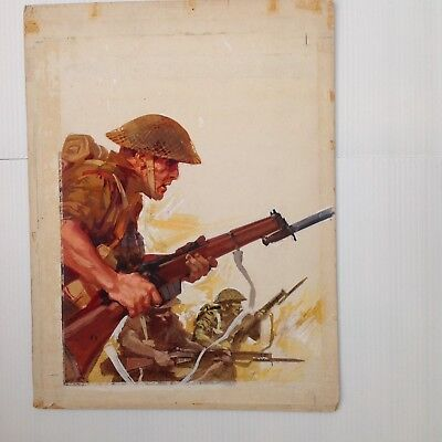 Original Comic Art of WAR PICTURE LIBRARY Cover #151: P. Dell'Orco