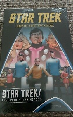 Star Trek Graphic Novel Collection Special Legion of Super-Heroes