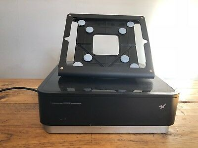 Star mPOP Cash Drawer and Receipt Printer with Heckler iPad stand