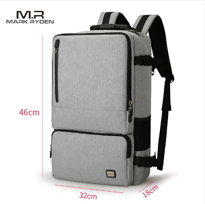 Anti-thief Design Travel Backpack Fit for 17 inch Laptop Bag Pack