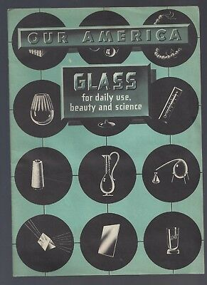 Scarce 1940's Coca Cola Bottling Company Educational Promotion booklet-Glass