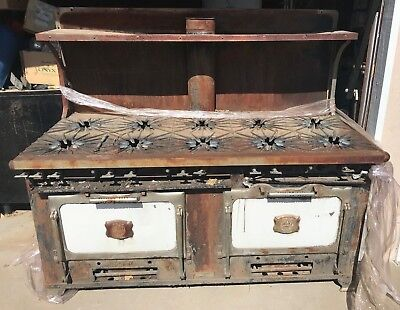 Antique Gas Stove 10 Burner By Majestic ,, Do You Know The Value Of This Stove?