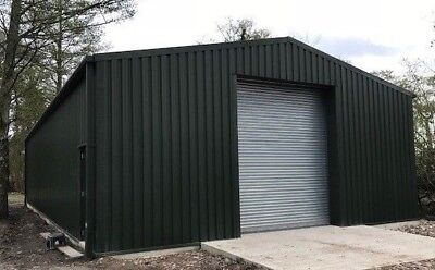 Steel Building Farm Tractor Storage  Caravan Agricultural Metal Shed Machinery