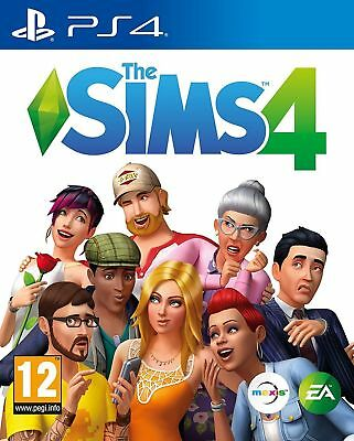 The Sims 4 (PS4 PLAYSTATION 4 VIDEO GAME) *NEW/SEALED* FREE P&P
