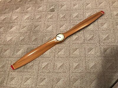 "Georgeous 51"" Airplane Propeller Quartz Clock"