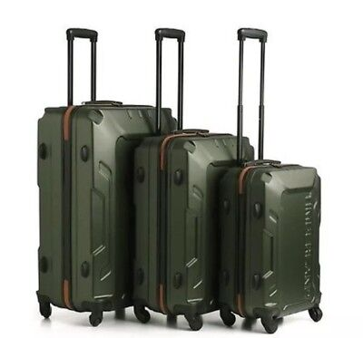 935c005f5170 TIMBERLAND BOSCAWEN 3-PIECE Hardcase Spinner Luggage Set Olive Green ...