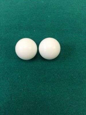 7/8 Inch  2 Roulette Balls For Casino Style Roulette Wheel