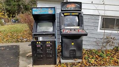 THE SIMPSONS 4 Player Arcade Game Machine - PCB Works. Monitor Issues. Die Hard