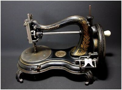 Extremely Rare Antique Jones Princess Of Wales Hand Sewing Machine 1880