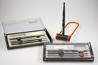 Kalligraphie Rotring Art Pen Set 7x Füllhalter fountain pen and pen stand