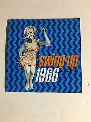 Rare Swing-Up 1966 Program Chrysler Plymouth 4 Song EP Dealer Show Giveaway