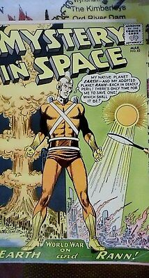 silver age 1963 comic mystery in space adam strange  1963 in ve