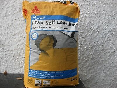 Sika Latex Self Levelling Compound Smooths and Levels Interior Floor