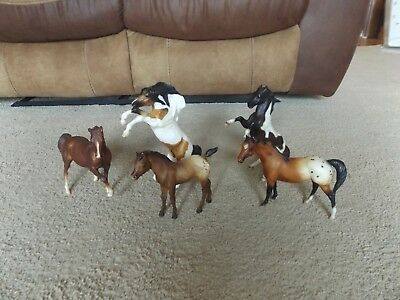 5pc Breyer Horse Lot- Taditional & Classic