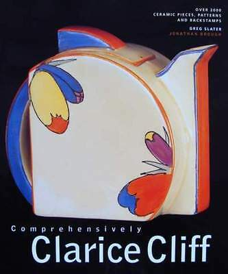BOOK : Comprehensively Clarice Cliff (stamps)