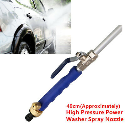 Water Hose Wand Attachment Widely Usage High Pressure Power Washer Spray Nozzle