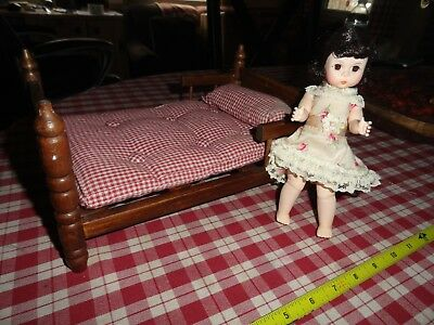 alexander doll and bed  vintage  lot of 2 items