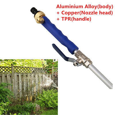 1x Aluminium Alloy Pressure Power Washer Spray Nozzle Water Hose Wand Attachment