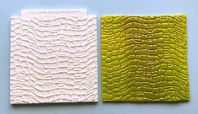 Silicone Mould crocodile skin dragon skin snake skin Texture Embossing Mat M251