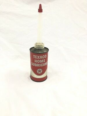 Vintage Texaco Home Lubricant Can 3 Oz