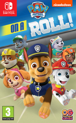 Paw Patrol: On a roll ! Nintendo Switch game (English ver.)