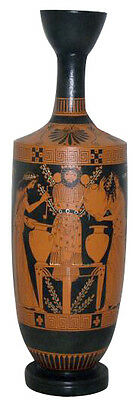 Ancient Greek Pottery Lekithoi Replica Reproduction