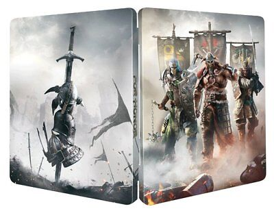 For Honor New Limited Edition Steelbook Ps4 Pc Xbox G2 Size Steelbox Metal Case