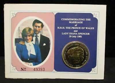 1981 UK Commemorating the Marriage of Prince of Whales & Lady Diana