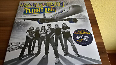 Iron Maiden Flight 666 O.S.T. (180g) (Limited Edition) (2 Picture vinyl)