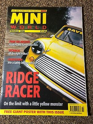 Mini World Magazine March 1996