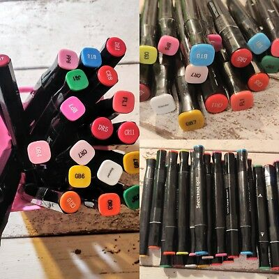 22 Spectrum Noir Markers Pens For Crafting - Craft Room Clearout Great Condition