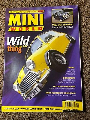 Mini World Magazine November 1996