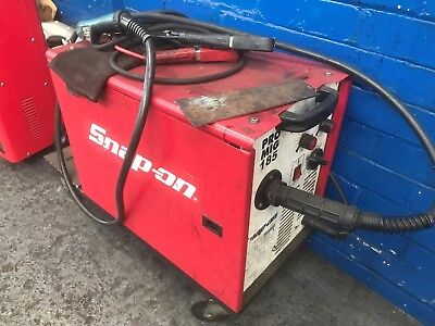SNAP-ON Pro Mig 185 Welder Complete with trolley and torch