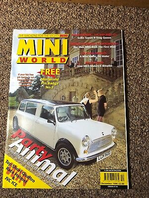Mini World Magazine December 1996