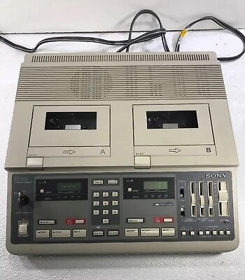Sony Confer-Corder Court Conference Cassette Transcriber Recorder | Model:BM-246