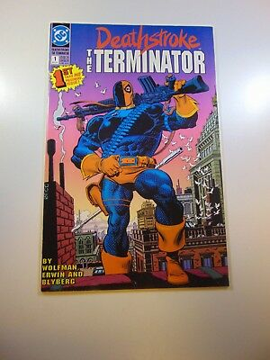 Deathstroke The Terminator #1 FN+ condition Huge auction going on now!