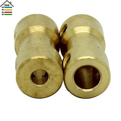 5-3.17mm Motor Copper Shaft Coupling Coupler Connector Sleeve Adapter