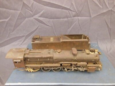 Ho Scale Brass Gem/guild Dh-101 Pennsylvania Class M-1 4-8-2 Mountain Locomotive