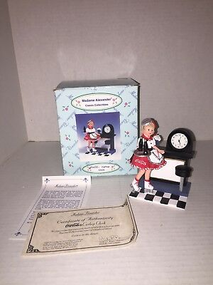 Madame Alexander Coca Cola Carhop Clock With Box