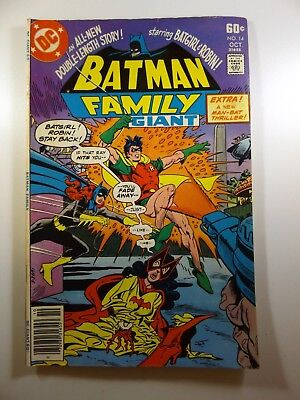 Batman Family #14 Great Read!! Beautiful VG+ Condition!!